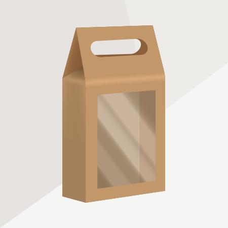 Custom Shaped Luxury Cardboard Bag